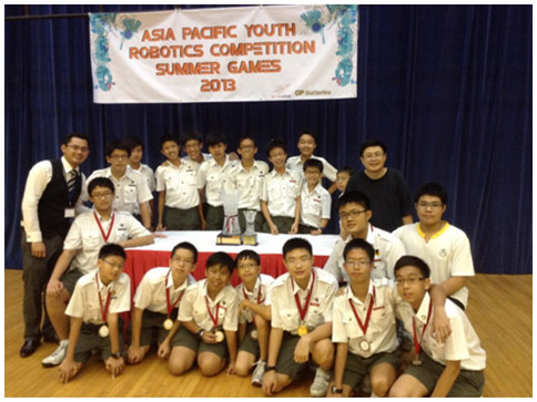 Asia-Pacific-Youth-Robotics-Competition-Overall-Champion